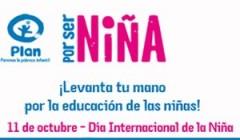 """Campaña Internacional """"Por ser Niña"""""""
