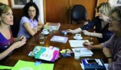 Visita de Cynthia Ottaviano de Argentina
