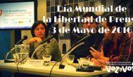 Día Mundial de la Libertad de Prensa: 3 de mayo 2016