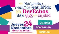 Marcha pro derechos de niños, niñas y adolescentes en Las Piedras