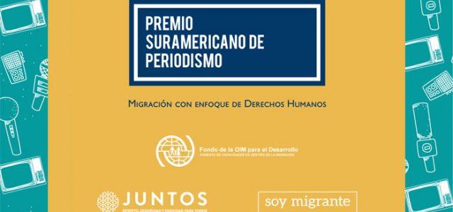 Premio Suramericano de Periodismo sobre Migración